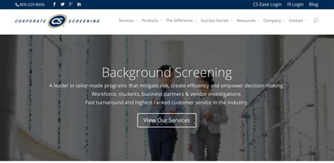 Corporate Screening Background Check Top 15 Background Check Services 2015 Biz Brain