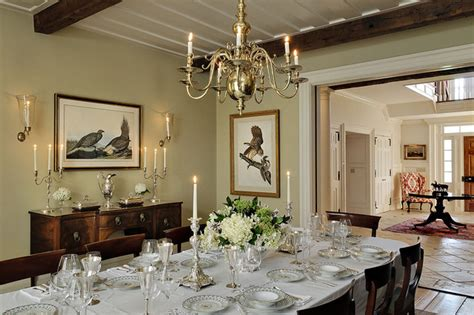 Horse Country Home   Traditional   Dining Room   new york