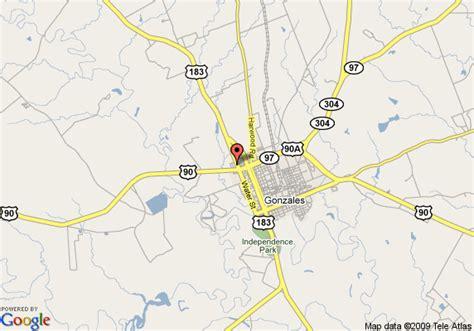 gonzales texas map map of sleep inn suites gonzales gonzales
