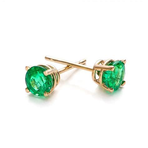 emerald stud earrings 100952 bellevue seattle joseph