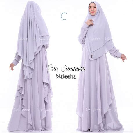 Pusat Grosir Baju Muslim Kamila Syari Monalisa gamis syari cantik maleeha by eric summers pusat grosir baju muslim