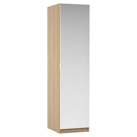 buy house by lewis mix it mirrored single wardrobe