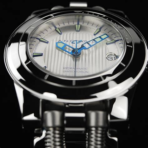 android watches android hydraumatic limited edition automatic stainless steel cuff