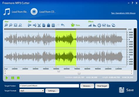 download mp3 cutter software jar freemoresoft freemore mp3 cutter cut audio files for free