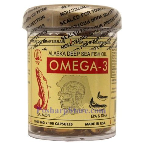 Sea Fish Softgel 100 Asli yat chau alaska sea fish omega 3 100 softgels
