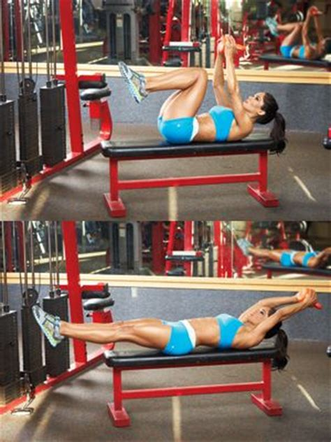 shortcut to amazing abs for a sleek chiseled just add weights this spot on mix of