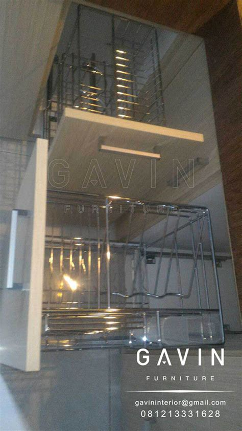 Rak Piring Tarik lemari dapur gambar lemari dapur lemari dapur minimalis