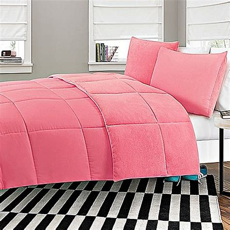 microfiber twin comforter buy microfiber to plush reversible 2 piece twin xl
