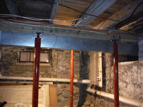 ayers basement systems foundation repair before and
