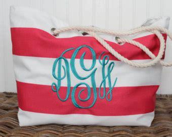 monogrammed beach bags  fashion bags