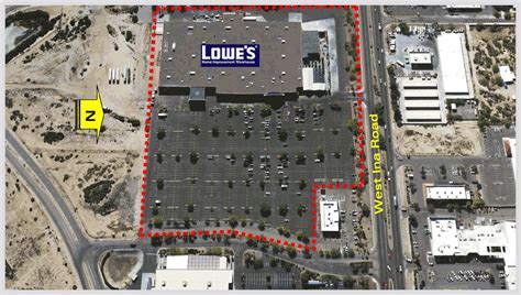 lowes marana marana ina lowes shopping center marketing package