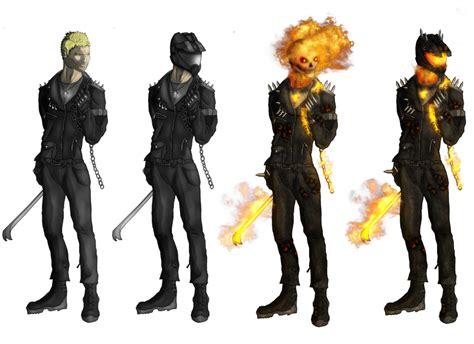 Jaket Anime Iron Flower Hybrid ghost rider redesign by darthdestruktor on deviantart