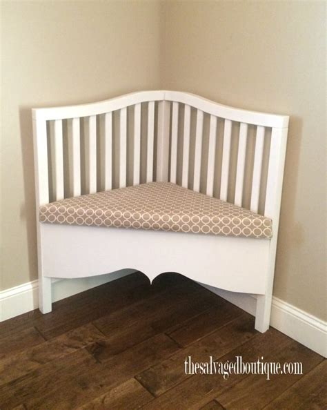 baby work bench broken crib to sophisticated upcycled corner bench the