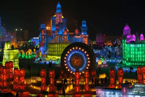 harbin festival a city made of spectacular sculptures at the 2015