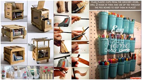 top 40 easy home decorating ideas tour 2018 diy crafts hacks with paper handmade for