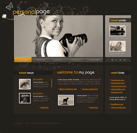 tutorial photoshop template web design 40 tutorials on photoshop website design and psd to html