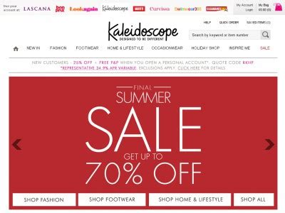 discount vouchers kaleidoscope kaleidoscope discounts voucher codes 20 april 2018