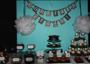 Basketball Banquet Centerpieces by Graduation Black And White Party B Lovely Events