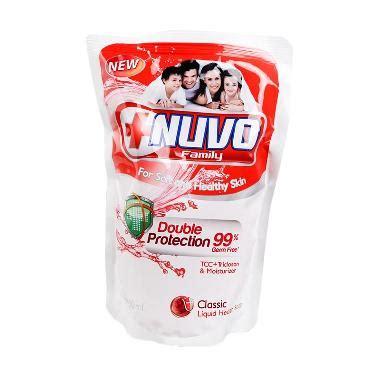 Nuvo Soap Refil 250ml jual sabun nuvo wash daftar harga termurah blibli