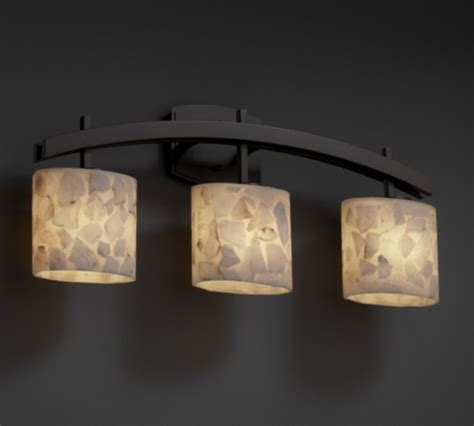 houzz bathroom lighting archway alabaster rocks 3 light bathroom vanity bar by