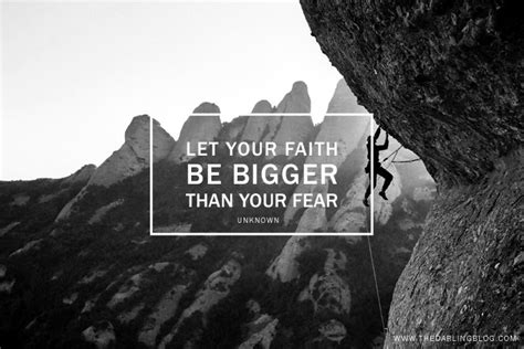 the darling blog let your faith be bigger than your fear