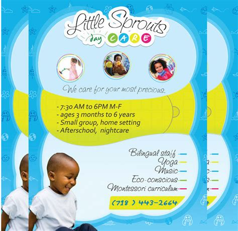 free child care flyer templates childcare flyer anuvrat info