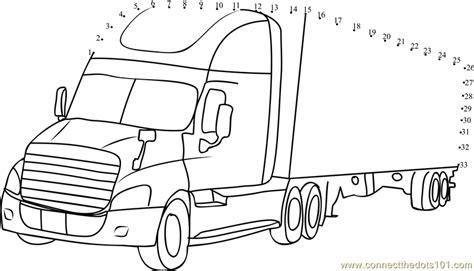 printable school bus dot to dot daimler truck dot to dot printable worksheet connect the