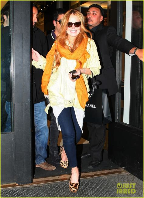 Lindsay Lohan Goes Shopping For Chanel Bags by Lindsay Lohan Shopping Spree With Vikram Chatwal Photo