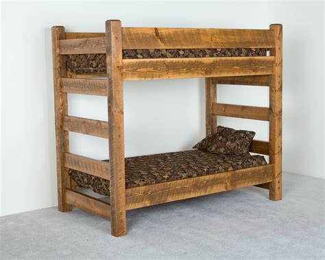 rustic beds wooden rustic bunk beds awesome rustic bunk beds