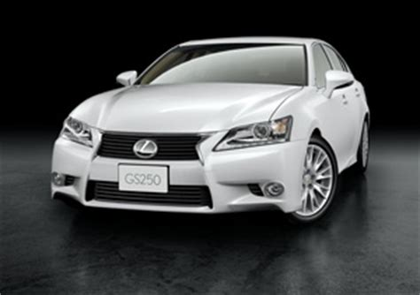 lexus reveals new entry level gs 250 with 209hp 2.5 liter