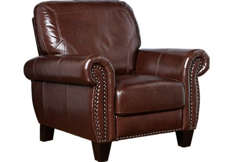 Brown Recliner by Balencia Brown Leather Recliner Leather Recliners Brown