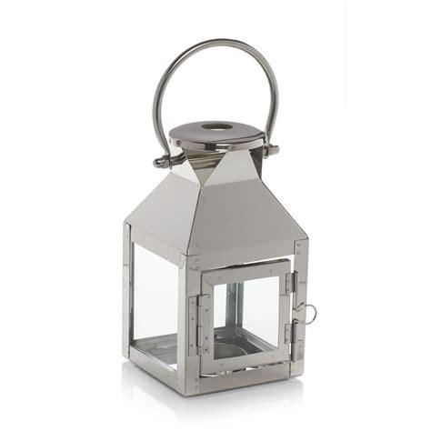 Lantern Home Decor wilko lantern small chrome effect at wilko com