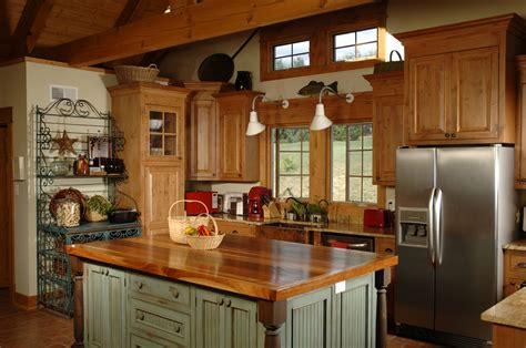 the country chic kitchen
