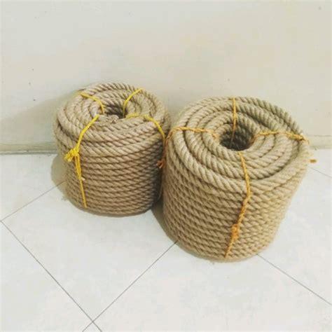 Tali Tambang Rami jual tali tambang goni besar jumbo vintage bukan rami