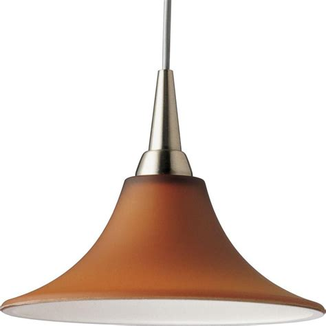 Home Depot Pendant Lighting Progress Lighting Illuma Flex Collection Brushed Nickel 1 Light Pendant The Home Depot Canada