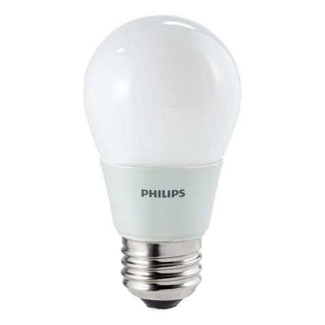 Philips Light Bulbs Led Philips 15w Equivalent Soft White 2700k A15 Ceiling Fan Led Light Bulb 411645 The Home Depot