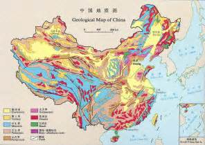 geological map geological map of china size