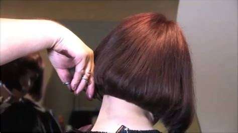 hair ears cut hair salon cut long to bob haircut part 3 youtube