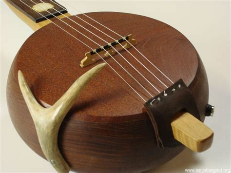 Handcrafted Banjo - handmade fretless banjo with special