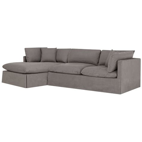 gray fabric sectional with chaise city furniture raegan gray fabric left chaise sectional