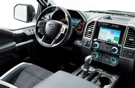 ford  svt raptor interior
