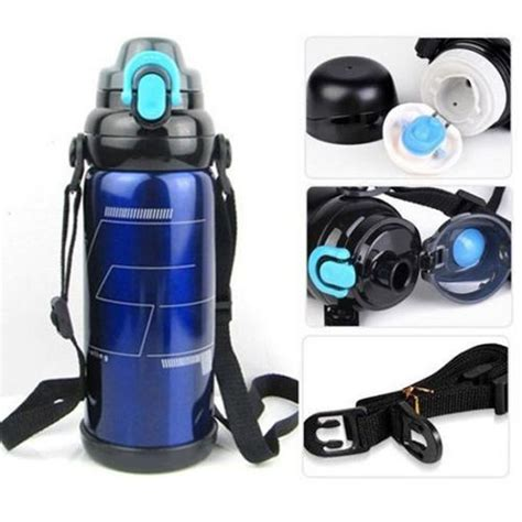 Just Stainless Steel Thermos Water Bottle Sport Series vacuum insulated sports thermos awesome deals