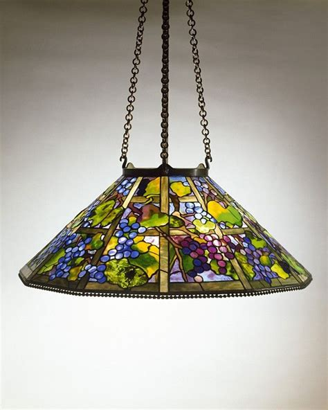 tiffany hanging l shade tiffany studios grape hanging shade c 1906 leaded