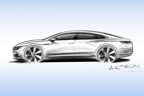 volkswagen arteon 2017 vw arteon revealed in full 2017 s passat cc by car magazine