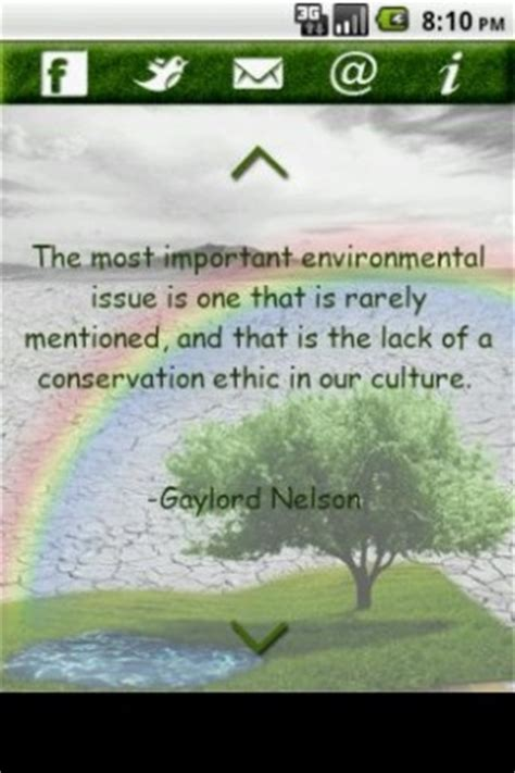 green environmental quotes. quotesgram