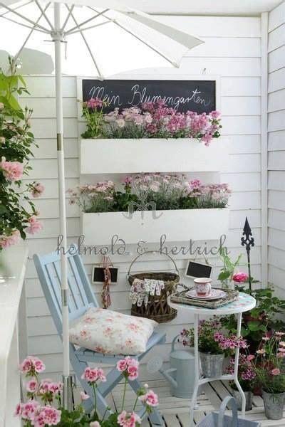 pequena terraza romanticqa casa web