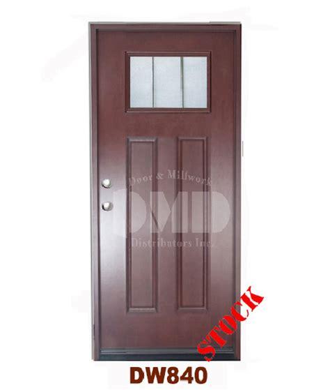 Wholesale Front Entry Doors Dw840 Walnut Exterior Fiberglass Door Dmd Chicago Door And Millwork Distributors Inc