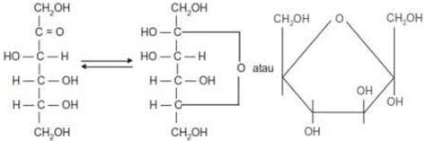 monosakarida dalam bentuk gula anggur atau glukosa gula buah atau fruktosa levulosa dan