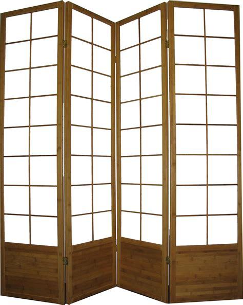 Shoji L by 6 Bamboo Frame Shoji Screen