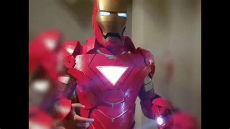 iron man armour cosplay armadura granada youtube